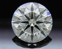 1.008 ct I SI2 A CUT ABOVE® Hearts and Arrows Super Ideal Round Cut Loose Diamond