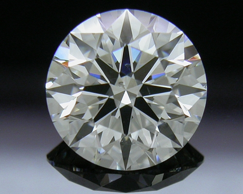 1.002 ct I SI1 A CUT ABOVE® Hearts and Arrows Super Ideal Round Cut Loose Diamond