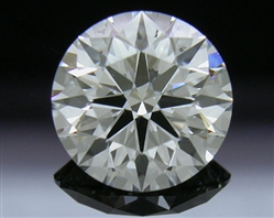 1.047 ct I SI1 A CUT ABOVE® Hearts and Arrows Super Ideal Round Cut Loose Diamond