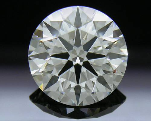 1.705 ct J VS2 A CUT ABOVE® Hearts and Arrows Super Ideal Round Cut Loose Diamond