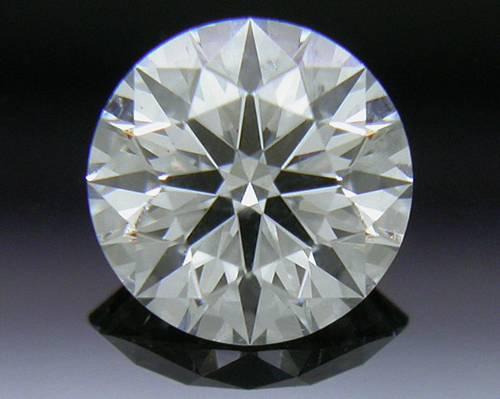 0.413 ct F SI2 A CUT ABOVE® Hearts and Arrows Super Ideal Round Cut Loose Diamond