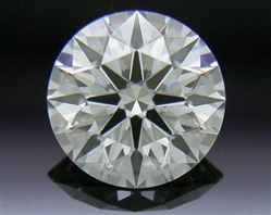 0.398 ct J VS1 A CUT ABOVE® Hearts and Arrows Super Ideal Round Cut Loose Diamond