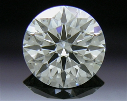 0.405 ct J SI1 A CUT ABOVE® Hearts and Arrows Super Ideal Round Cut Loose Diamond