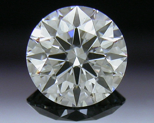 0.407 ct F SI1 A CUT ABOVE® Hearts and Arrows Super Ideal Round Cut Loose Diamond
