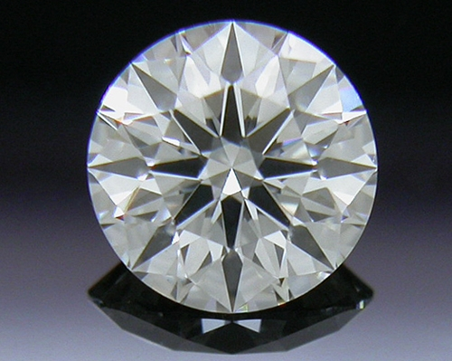 0.401 ct G SI1 A CUT ABOVE® Hearts and Arrows Super Ideal Round Cut Loose Diamond