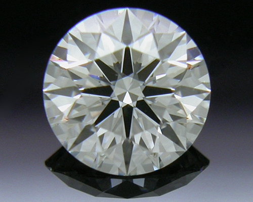0.427 ct H VVS2 A CUT ABOVE® Hearts and Arrows Super Ideal Round Cut Loose Diamond