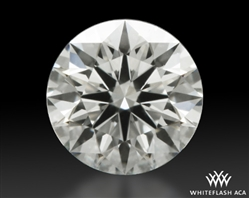 0.332 ct J VS1 A CUT ABOVE® Hearts and Arrows Super Ideal Round Cut Loose Diamond
