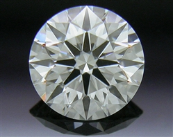 0.327 ct J VS1 A CUT ABOVE® Hearts and Arrows Super Ideal Round Cut Loose Diamond