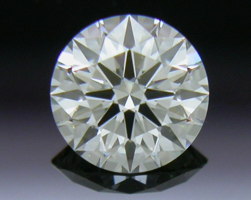 0.303 ct J VS2 A CUT ABOVE® Hearts and Arrows Super Ideal Round Cut Loose Diamond