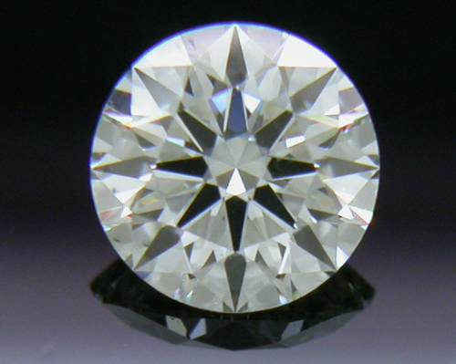 0.308 ct J VS2 A CUT ABOVE® Hearts and Arrows Super Ideal Round Cut Loose Diamond