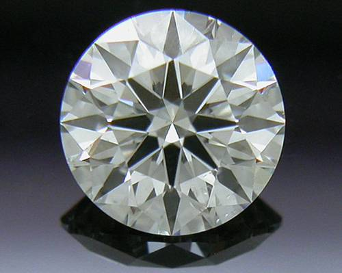 0.325 ct J SI1 A CUT ABOVE® Hearts and Arrows Super Ideal Round Cut Loose Diamond