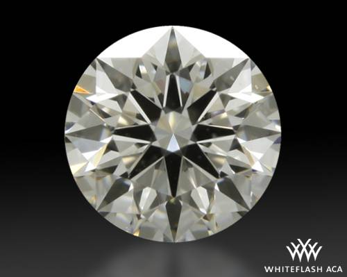0.508 ct H VVS2 A CUT ABOVE® Hearts and Arrows Super Ideal Round Cut Loose Diamond