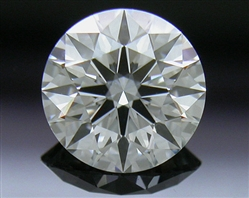 0.566 ct F VVS2 A CUT ABOVE® Hearts and Arrows Super Ideal Round Cut Loose Diamond