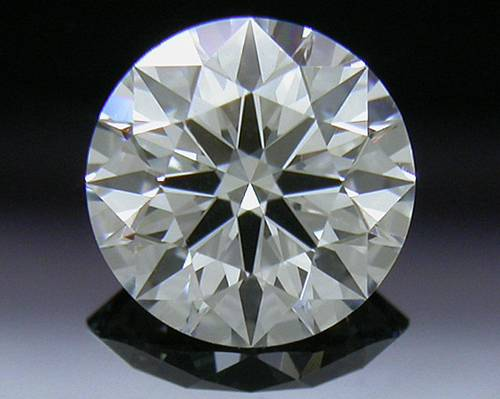 0.527 ct F VVS2 A CUT ABOVE® Hearts and Arrows Super Ideal Round Cut Loose Diamond