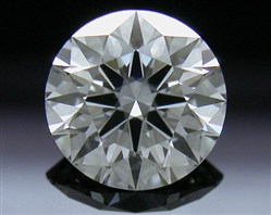 0.648 ct G SI1 A CUT ABOVE® Hearts and Arrows Super Ideal Round Cut Loose Diamond