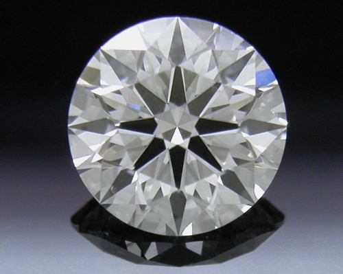 0.591 ct H SI2 A CUT ABOVE® Hearts and Arrows Super Ideal Round Cut Loose Diamond