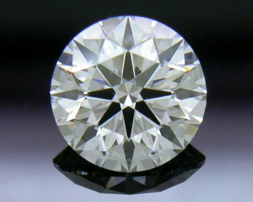 0.581 ct H SI1 A CUT ABOVE® Hearts and Arrows Super Ideal Round Cut Loose Diamond