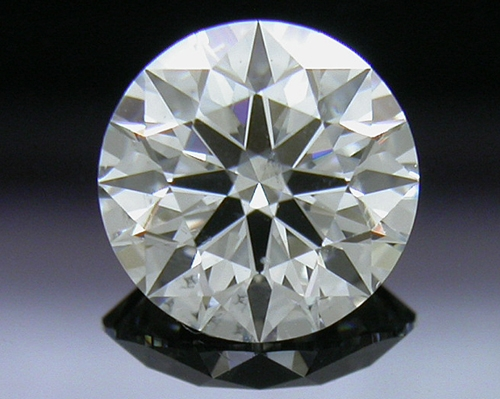 0.62 ct H SI2 A CUT ABOVE® Hearts and Arrows Super Ideal Round Cut Loose Diamond