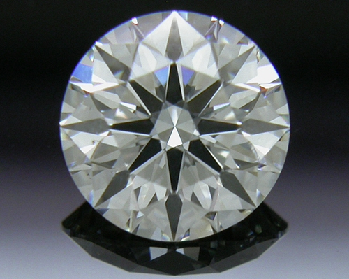 0.608 ct I SI1 A CUT ABOVE® Hearts and Arrows Super Ideal Round Cut Loose Diamond
