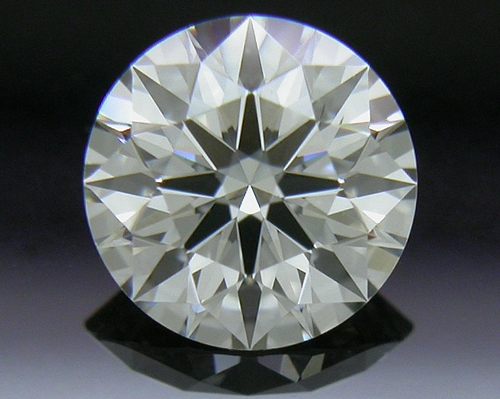 0.514 ct K SI1 A CUT ABOVE® Hearts and Arrows Super Ideal Round Cut Loose Diamond