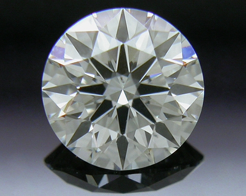 0.53 ct J VS2 A CUT ABOVE® Hearts and Arrows Super Ideal Round Cut Loose Diamond