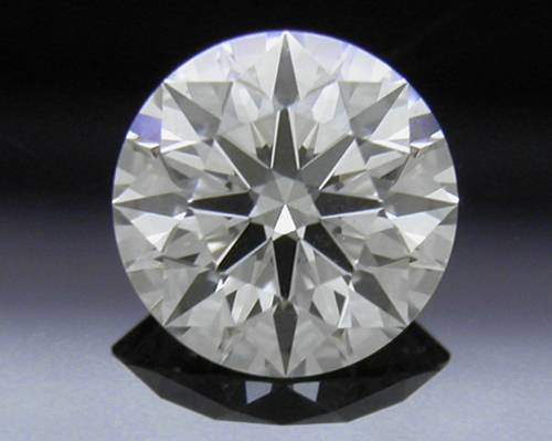 0.548 ct J SI1 A CUT ABOVE® Hearts and Arrows Super Ideal Round Cut Loose Diamond