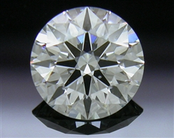 0.574 ct I SI1 A CUT ABOVE® Hearts and Arrows Super Ideal Round Cut Loose Diamond