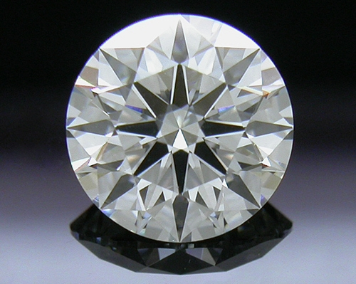0.754 ct H VS2 A CUT ABOVE® Hearts and Arrows Super Ideal Round Cut Loose Diamond