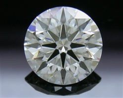 0.811 ct G SI1 A CUT ABOVE® Hearts and Arrows Super Ideal Round Cut Loose Diamond