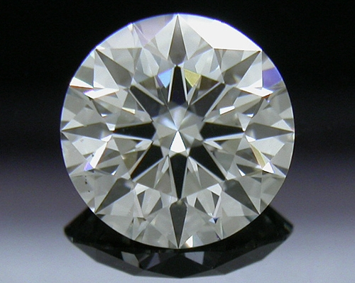 0.703 ct I VS2 A CUT ABOVE® Hearts and Arrows Super Ideal Round Cut Loose Diamond