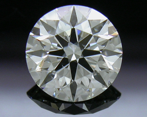 0.703 ct I SI1 A CUT ABOVE® Hearts and Arrows Super Ideal Round Cut Loose Diamond