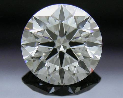 0.807 ct I SI1 A CUT ABOVE® Hearts and Arrows Super Ideal Round Cut Loose Diamond