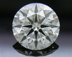 0.715 ct H SI2 A CUT ABOVE® Hearts and Arrows Super Ideal Round Cut Loose Diamond
