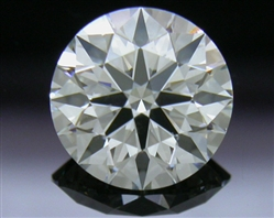 0.757 ct J SI1 A CUT ABOVE® Hearts and Arrows Super Ideal Round Cut Loose Diamond