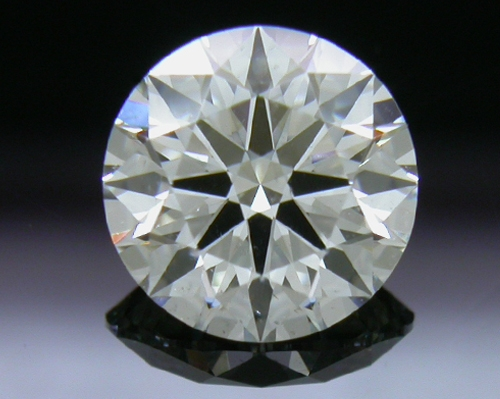 0.821 ct H SI2 A CUT ABOVE® Hearts and Arrows Super Ideal Round Cut Loose Diamond