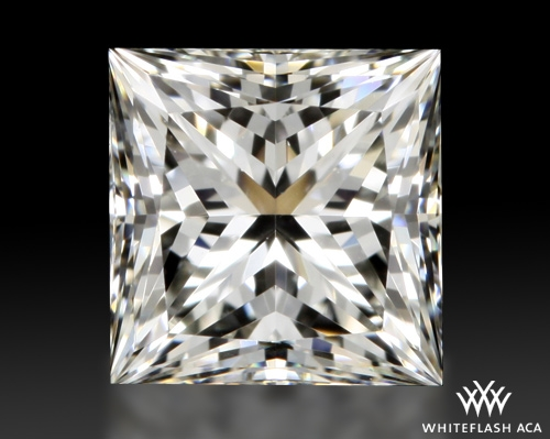 0.778 ct I VVS2 A CUT ABOVE® Princess Super Ideal Cut Diamond
