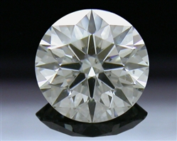 0.396 ct H SI1 A CUT ABOVE® Hearts and Arrows Super Ideal Round Cut Loose Diamond