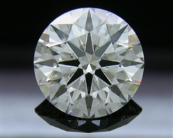 1.606 ct I SI1 A CUT ABOVE® Hearts and Arrows Super Ideal Round Cut Loose Diamond
