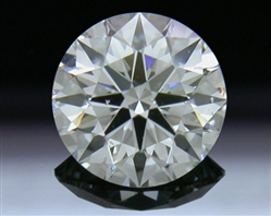 0.92 ct H SI1 A CUT ABOVE® Hearts and Arrows Super Ideal Round Cut Loose Diamond