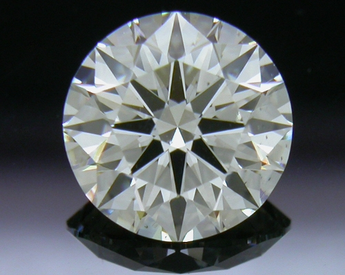 0.90 ct J SI1 A CUT ABOVE® Hearts and Arrows Super Ideal Round Cut Loose Diamond