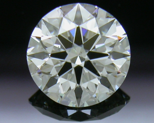 0.74 ct I SI1 A CUT ABOVE® Hearts and Arrows Super Ideal Round Cut Loose Diamond