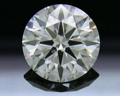 0.81 ct H SI2 A CUT ABOVE® Hearts and Arrows Super Ideal Round Cut Loose Diamond