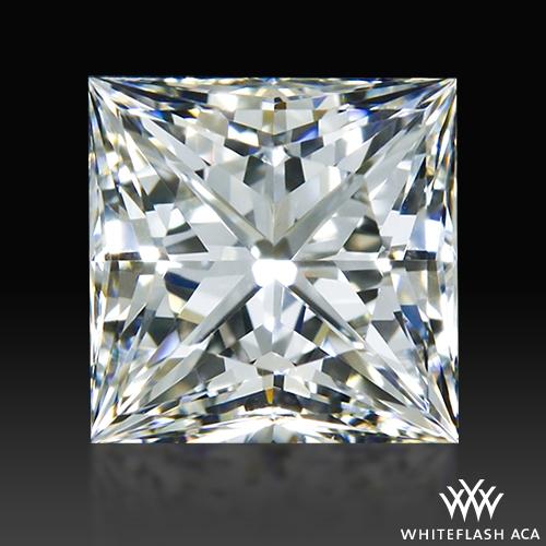 0.745 ct H VS1 A CUT ABOVE® Princess Super Ideal Cut Diamond
