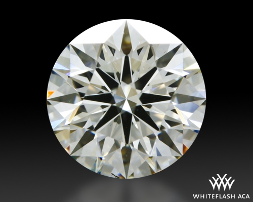 1.21 ct J SI1 A CUT ABOVE® Hearts and Arrows Super Ideal Round Cut Loose Diamond