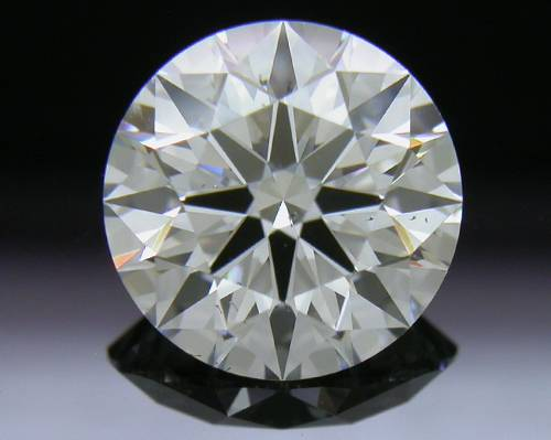 1.537 ct D SI1 A CUT ABOVE® Hearts and Arrows Super Ideal Round Cut Loose Diamond