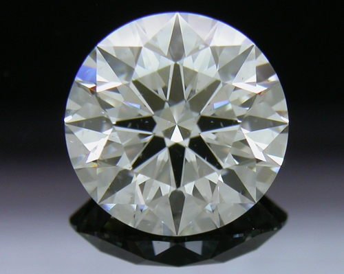 1.282 ct I SI2 A CUT ABOVE® Hearts and Arrows Super Ideal Round Cut Loose Diamond