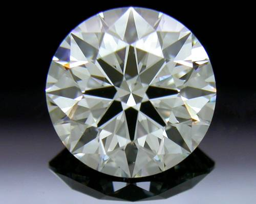 1.118 ct I SI1 A CUT ABOVE® Hearts and Arrows Super Ideal Round Cut Loose Diamond