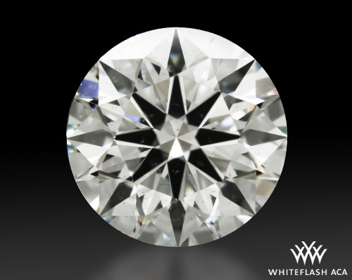 1.075 ct I SI1 A CUT ABOVE® Hearts and Arrows Super Ideal Round Cut Loose Diamond