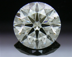 1.08 ct I SI2 A CUT ABOVE® Hearts and Arrows Super Ideal Round Cut Loose Diamond