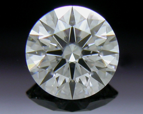 0.381 ct D SI1 A CUT ABOVE® Hearts and Arrows Super Ideal Round Cut Loose Diamond